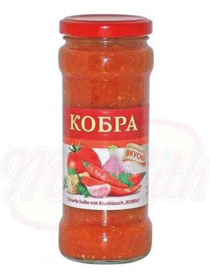 "Scherpe knoflooksaus ""Cobra"" 295 ml"