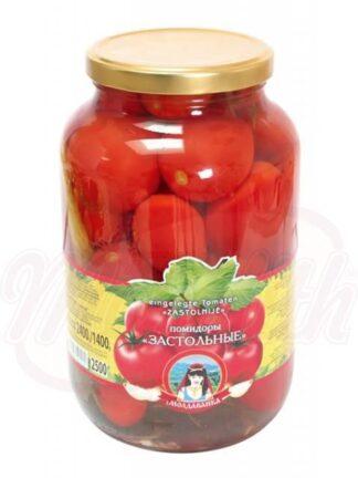 "Gemarineerde tomaten ""Zastol'nye"" 2400 g"