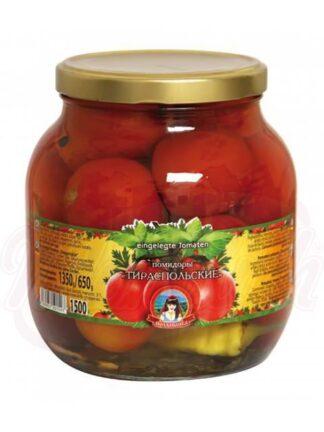 "Gemarineerde tomaten ""Tiraspol"" 1500 ml"