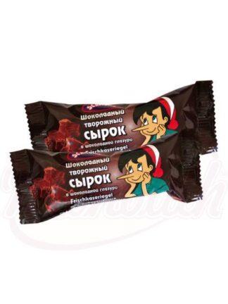 Chocolade kwarkreep met chocolade glazuur 45 g