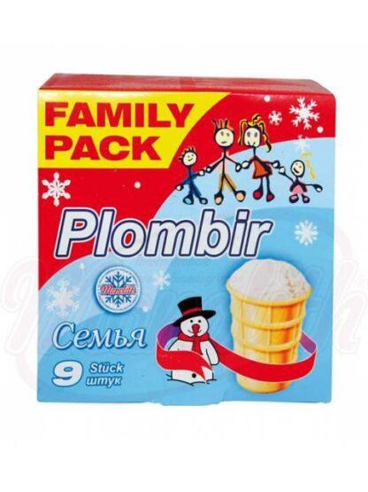 """IJscoupe van het roomijs """"Familie"""" Wafer cups 9 x 130 ml"""