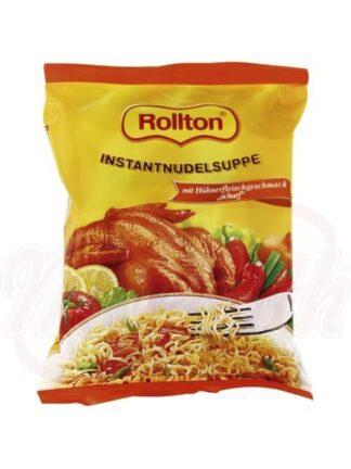 """Vermicelli """"Rollton"""" met kipsmaak aan de kruidige bouillon huis (60 gr)"""