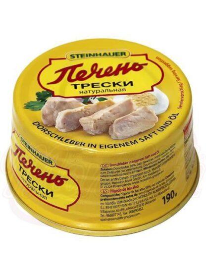 Lever van vis, natuurlijk 190 g