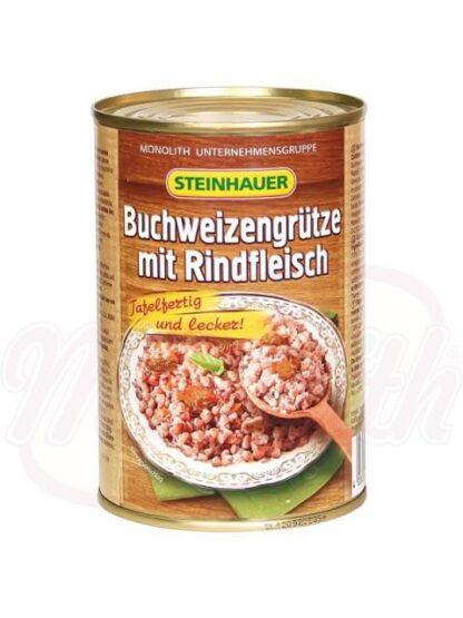 Boekweithavermoutpap met rundvlees 400 g