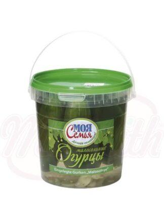 Komkommers gezouten
