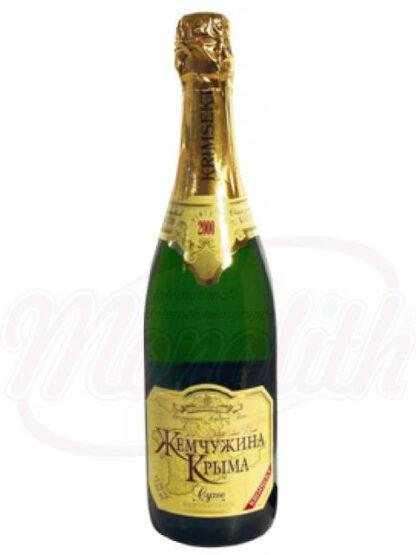 """Mousserende wijn """"Parel van de Krim"""" dry 11,5% alc. 0,75 L"""