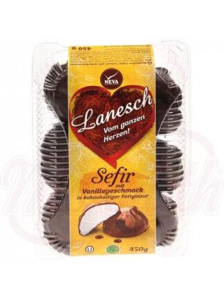"""Zefir """"La Neige"""" met de smaak van vanille cacao glazuur 450 g"""
