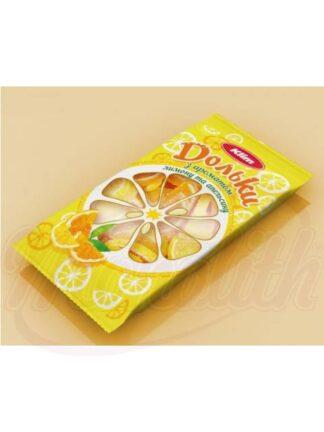 """Marmelade jelly """"Oranje plakken van de citroen"""""""