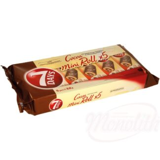 Mini cakerollen met cacaocrème vulling, 160 g