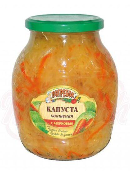 Zuurkool met wortelen 840 g