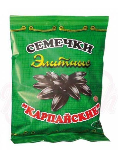 "Geroosterde zonnebloempitten black ""Karpayskie"" elite 100 gr"