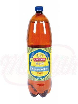 """Bier """"Zhiguli"""" Cvetlaya oorspronkelijke 4,3% alc. 2 L"""