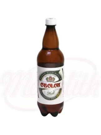 """Bier """"Obolon"""" licht gepasteuriseerd 4,5% alc. 1 L"""