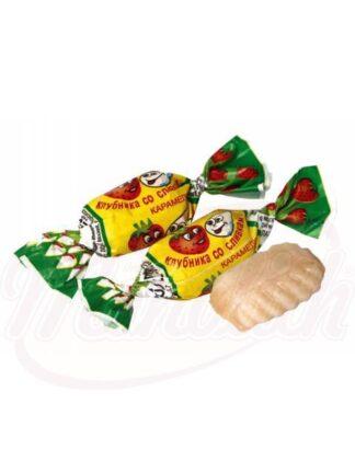 "Caramel ""Aardbeien en room"""