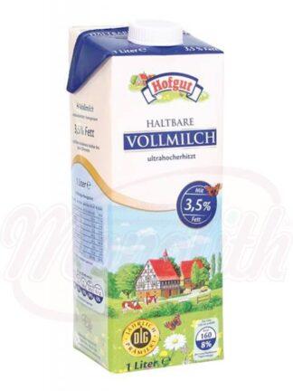 Melk 3,5% vet 1 L