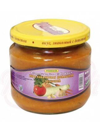 Courgettepuree huisgemaakt met knoflook 380 ml