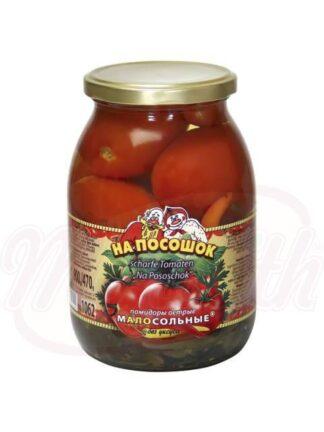 """Tomaten acute gezouten """"voor de weg"""", zonder azijn 1062 ml"""