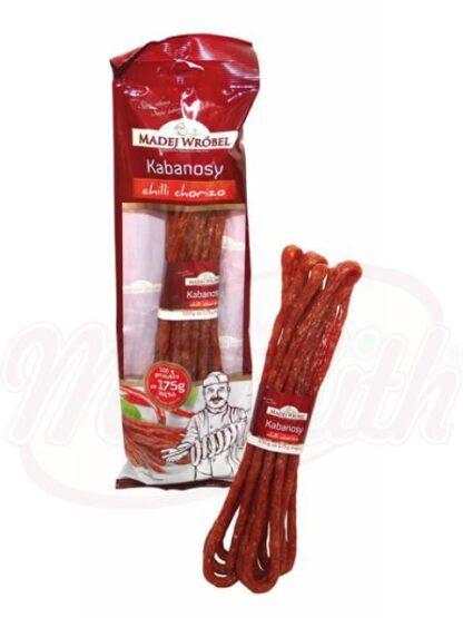 Poolse worstjes van varkensvlees met chili 120 g