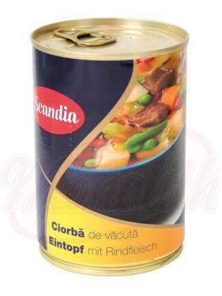 "Rundvleesstoofschotel ""Scandia- Ciorba de vacuta"" 400 g"