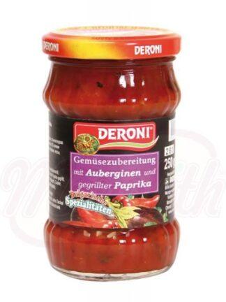 Puree van aubergine en paprika