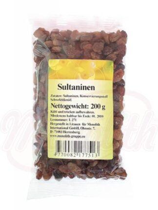 Sultanarozijnen 200 g
