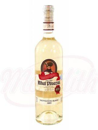 "Witte wijn ""Mihai Viteazul-Sauvignon Blanc"" demi-sec 0,75 L"