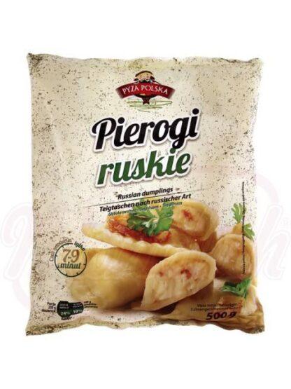 """Deegflapje op Russische wijze """"Pierogi ruskie"""", diepvries 500 g"""