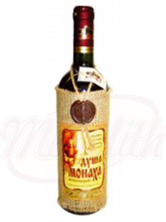 """Красное вино """"Душа монаха"""" полусладкое 12,5%"""