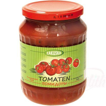 Tomaten in tomatensaus, 680 g