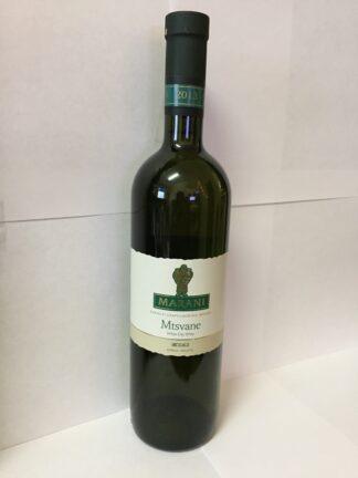 """Witte droge wijn """"Mtsvane"""""""