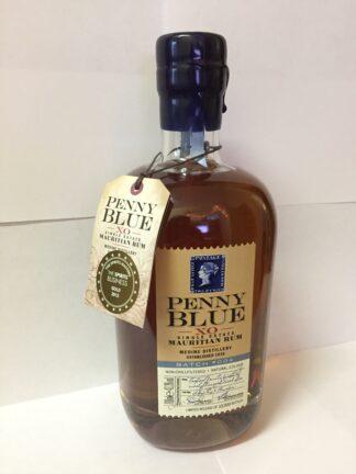 Penny Blue, XO Single Estate, Mauritian Rum, Batch No 004, 43.3%