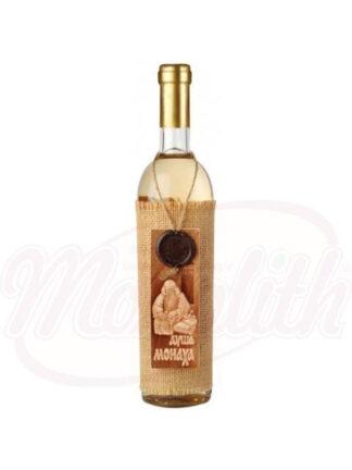 """Witte wijn""""Duscha Monaha""""halfzoet 0.75 L"""