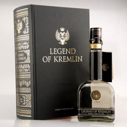 Vodka Legend of Kremlin in book 0,7 L