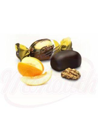 """Chocolade snoepjes """"Meloen met walnoten """""""