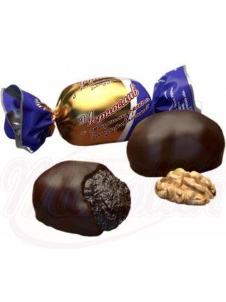"""Chocolade snoepjes """"Pruimen met walnoten"""""""