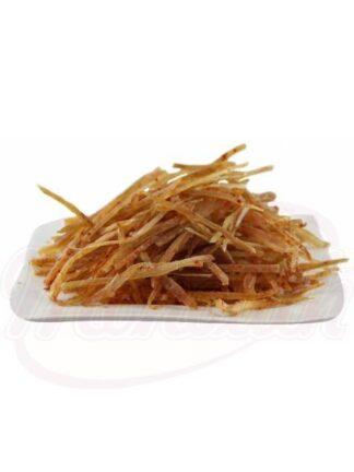 Pittige snack van Pacific Kabelajau in reepjes 100 gr