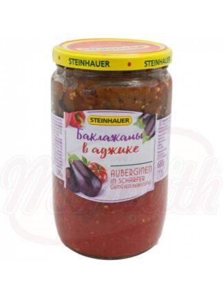 Aubergines in Adjika saus 680 g