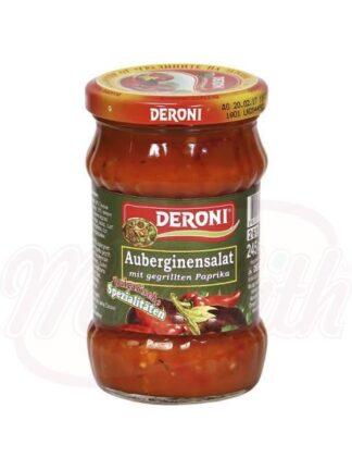 Auberginesalade met gegrilde paprika 245 g