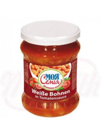 Witte bonen in tomatensaus 480 g