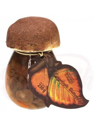 Ingelegde boterspaddestoelen 230 g