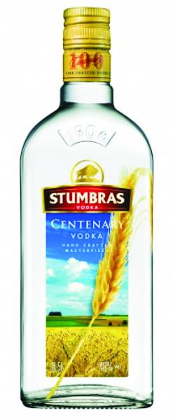 """Vodka """"Stumbras vodka""""Centenary 40%alc 700 ml"""