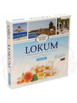 """Bulgaarse gegeleerde zoetwaren specialiteit """"Lokum classic"""" 170 g"""