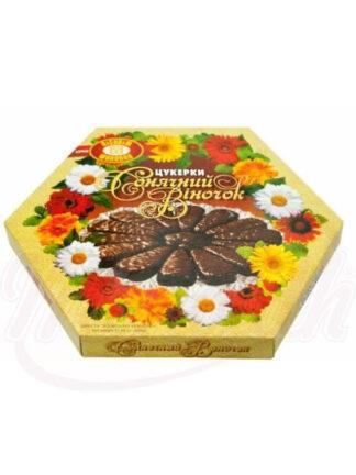 Chocolade met geleivulling met sinaasappelsmaak, 500 g