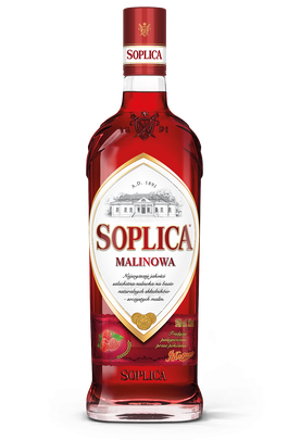 Vodka Soplica framboos, 0,5 l, 30% alk