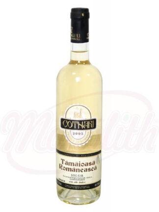 "Roemeense witte zoete wijn ""Cotnari Tamaioasa Romaneasca"" 11,5% alc., 0,75 L"