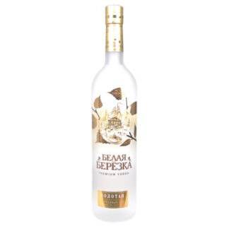 Vodka Belaja Berioza Gold, 0,7 L