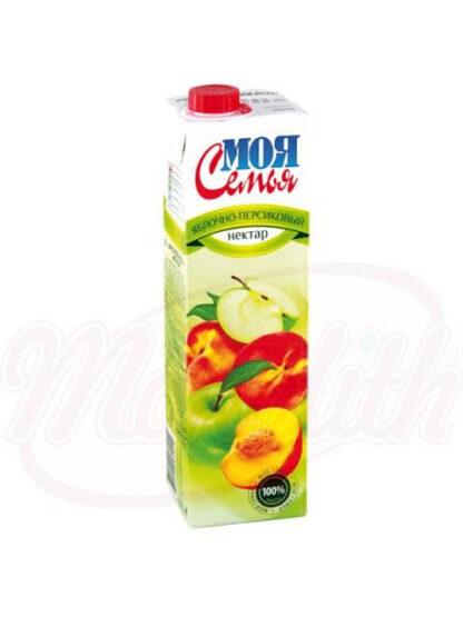 "Appel perzik nectar ""Mijn familie"", 0,95 l"