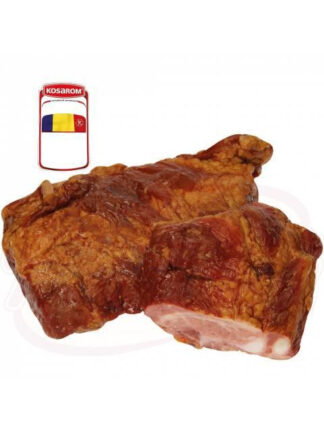 Gestoomde en gerookte varkensribbetjes