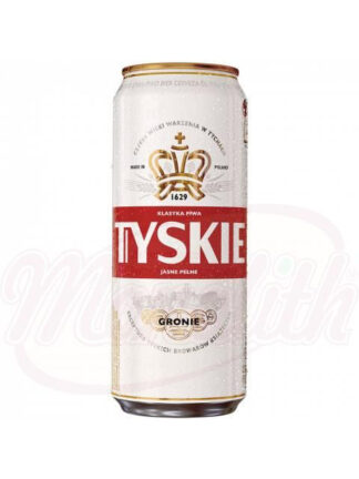 "Bier ""Tyskie Gronie"" hell 5,2% vol, 0,5 l"