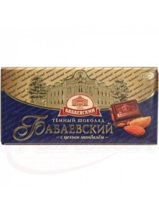 """Chocolade """"Babaevsky"""" met amandelen, 100 g"""